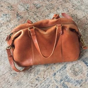 Madewell Leather Kensington Satchel Handbag